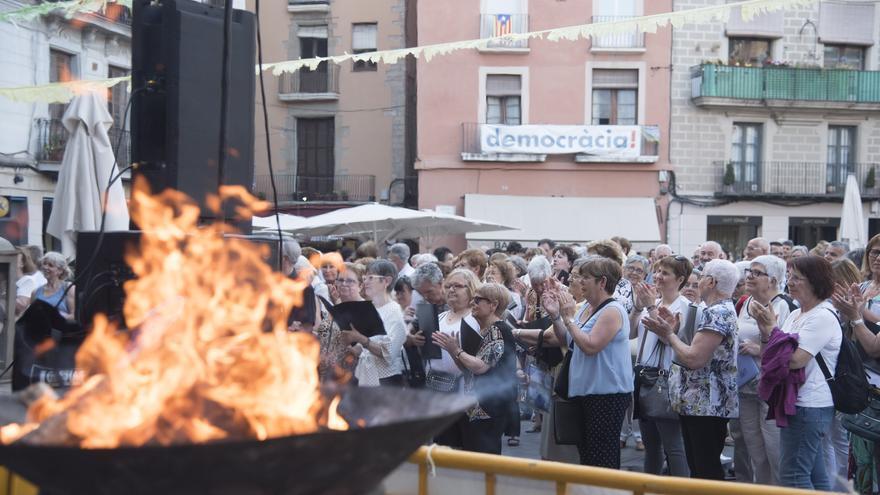 La Flama del Canigó arribarà la vigília de Sant Joan a la plaça Major de Manresa