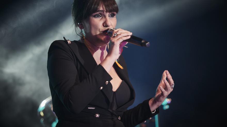 La cantante Rozalén, galardonada con el Premio Nacional de Músicas Actuales 2021