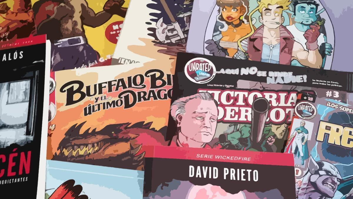 Unrated Comic protagonizará la primera actividad de esta programación del Día del Libro.