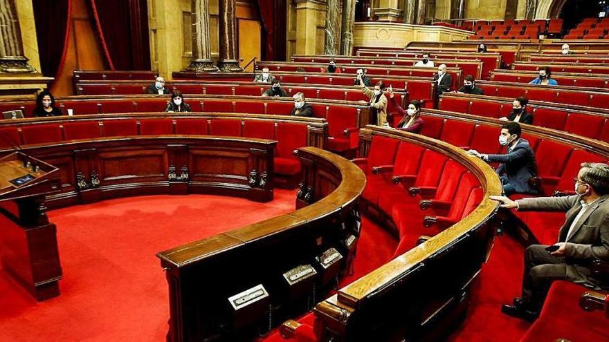 El Parlament demana una llei d'amnistia per a tots els encausats pel procés des del 2013