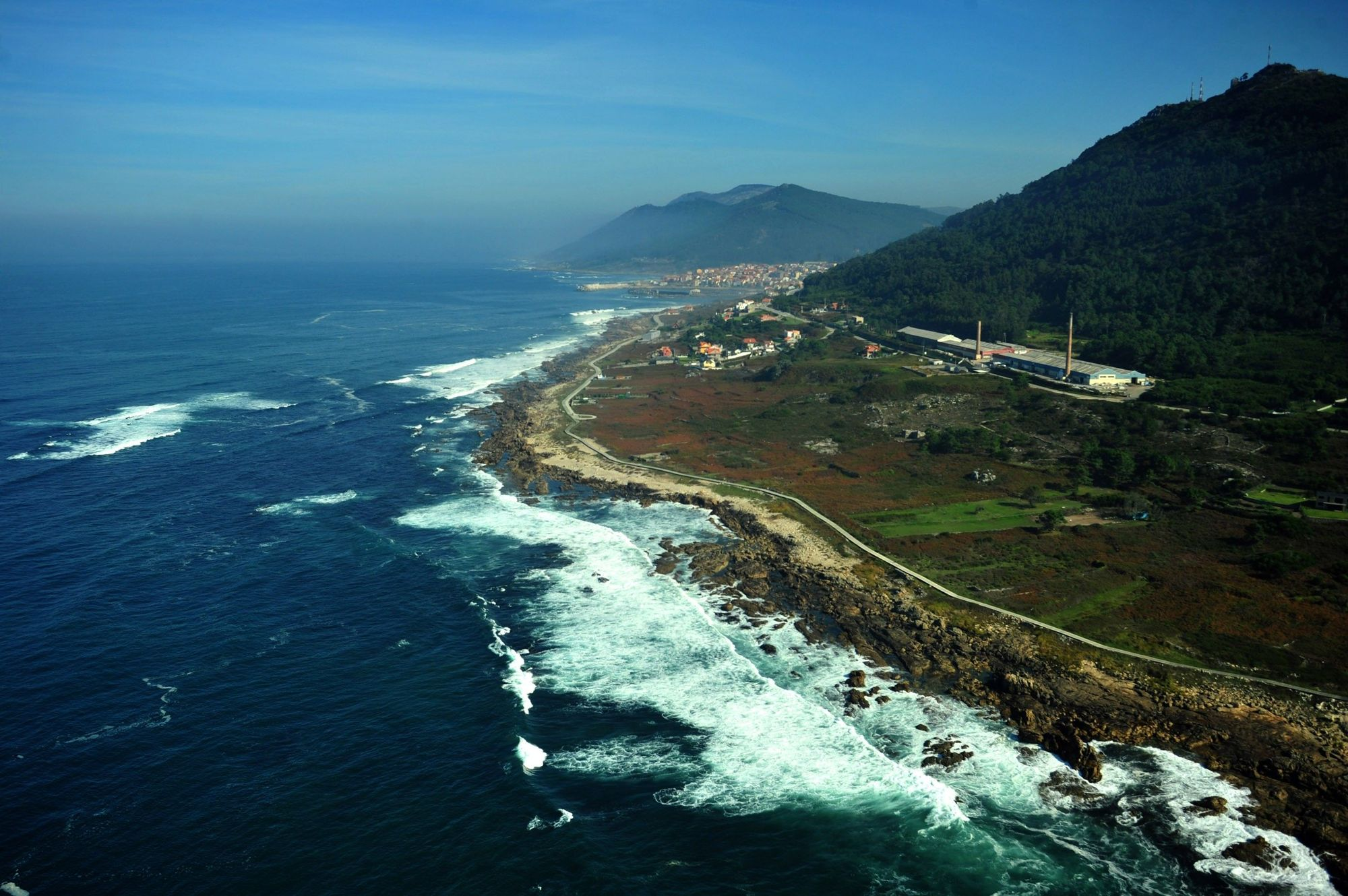 Vista de una parte del Sendero Azul del litoral de A Guarda / Iñaki Abella