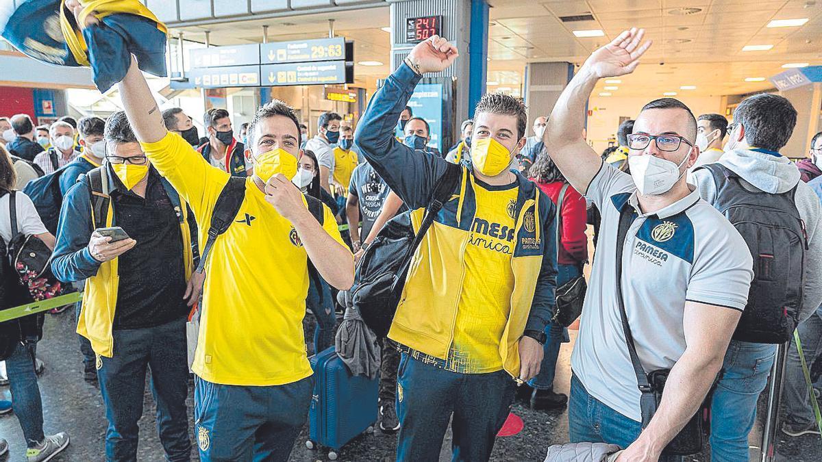La afición del Villarreal no dejará solo al Submarino en la Supercopa de Europa en Belfast