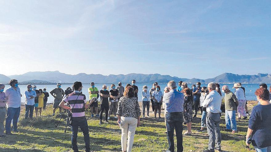 Alcúdia se alza para defender el paraje natural de es Corral d'en Bennàssar