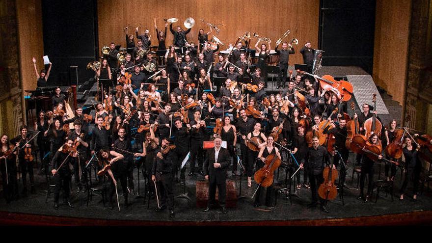 Encuentro entre dos orquestas