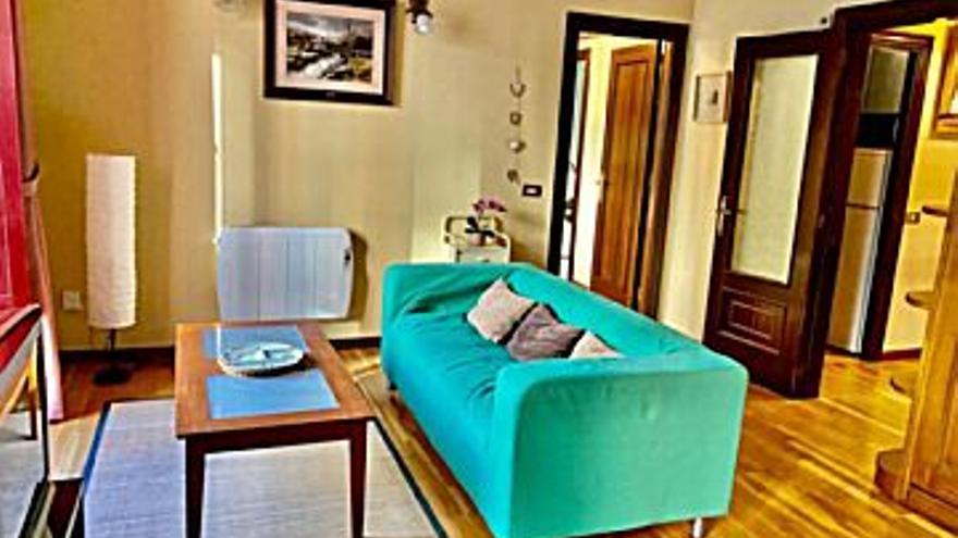 575 € Alquiler de piso en Gijón (centro) 54 m2, 1 habitación, 1 baño, 11 €/m2...