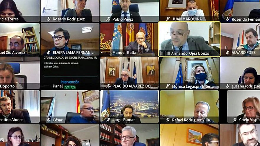 La Diputación pedirá especialistas y salas separadas en el CHUO para lactantes y niños de hasta 14 años