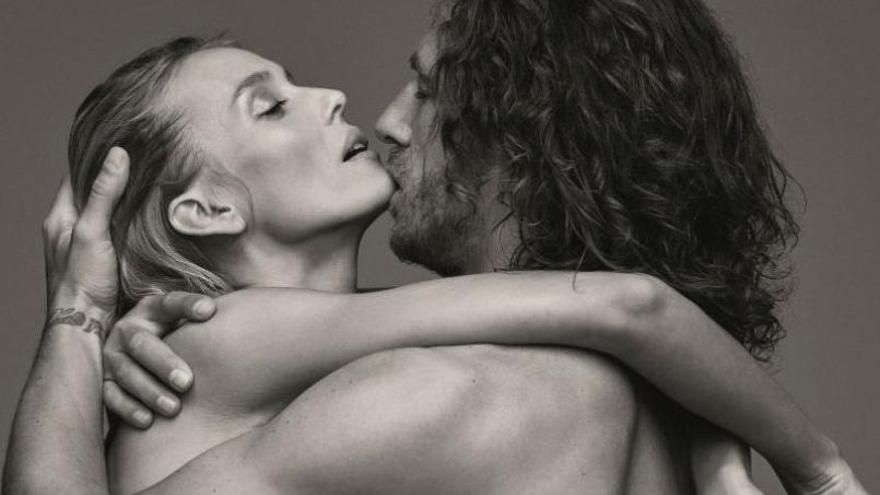 Vanesa Lorenzo y Carles Puyol, piel de amor