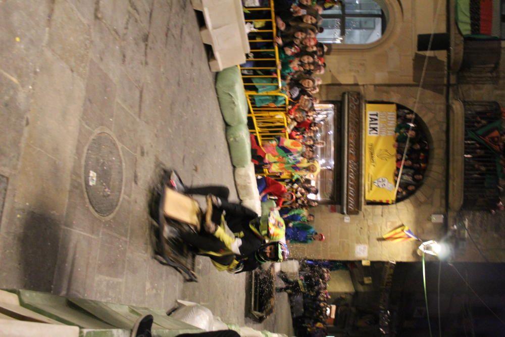 Baixada de Boits al Carnaval de Solsona