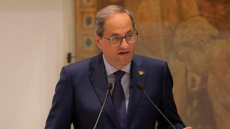 Torra ofrece a Open Arms los puertos catalanes
