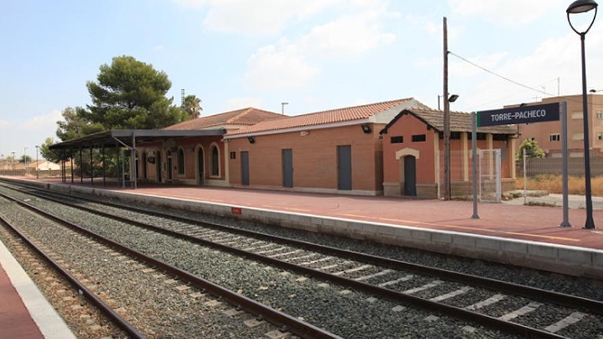 Torre Pacheco rehabilitará su estación de ferrocarril