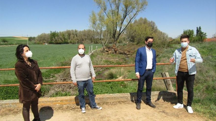 Argujillo culmina la limpieza del arroyo Talanda
