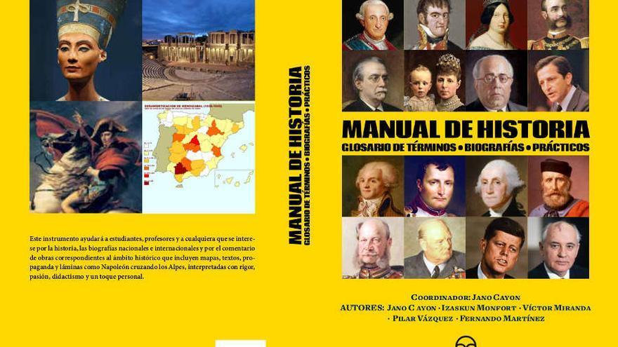 Presentación de los volúmenes: Manual de Historia y Manual de Historia del arte