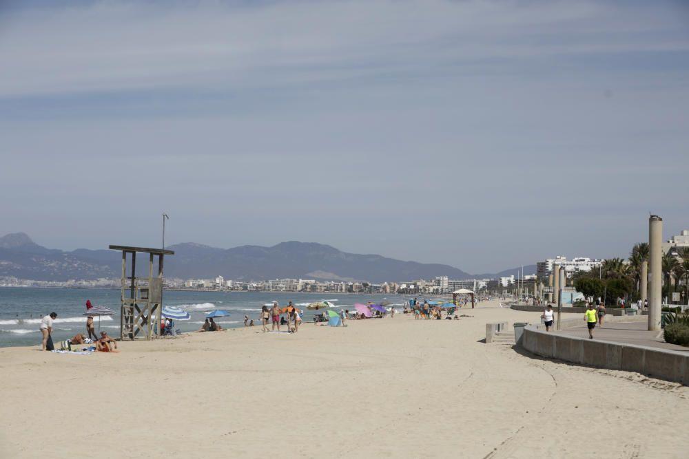 Coronavirus auf Mallorca: die letzten Stunden ohne Urlauber