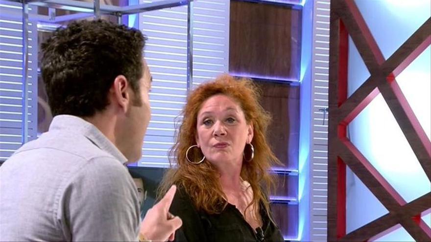 """El encontronazo de Cristina Fallarás y Antonio Rossi por Rocío Carrasco: """"¿Tenía que poner la otra mejilla?"""""""