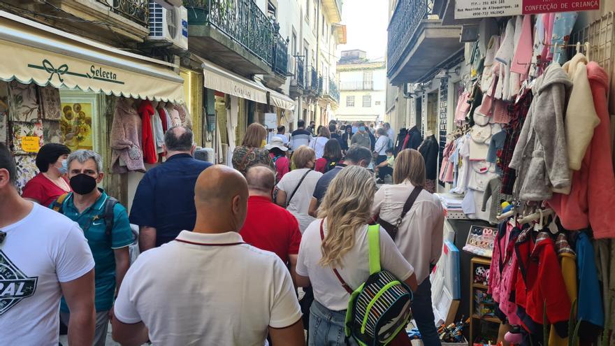 Viaje de ida y vuelta entre Arousa y Portugal