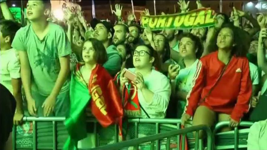 Euforia en Portugal