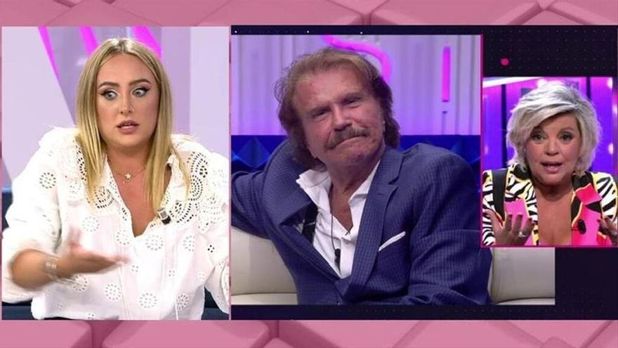 """Rocío Flores se la devuelve a María Teresa Campos defendiendo a Bigote: """"Me cuesta creer que deje a su pareja por un WhatsApp"""""""
