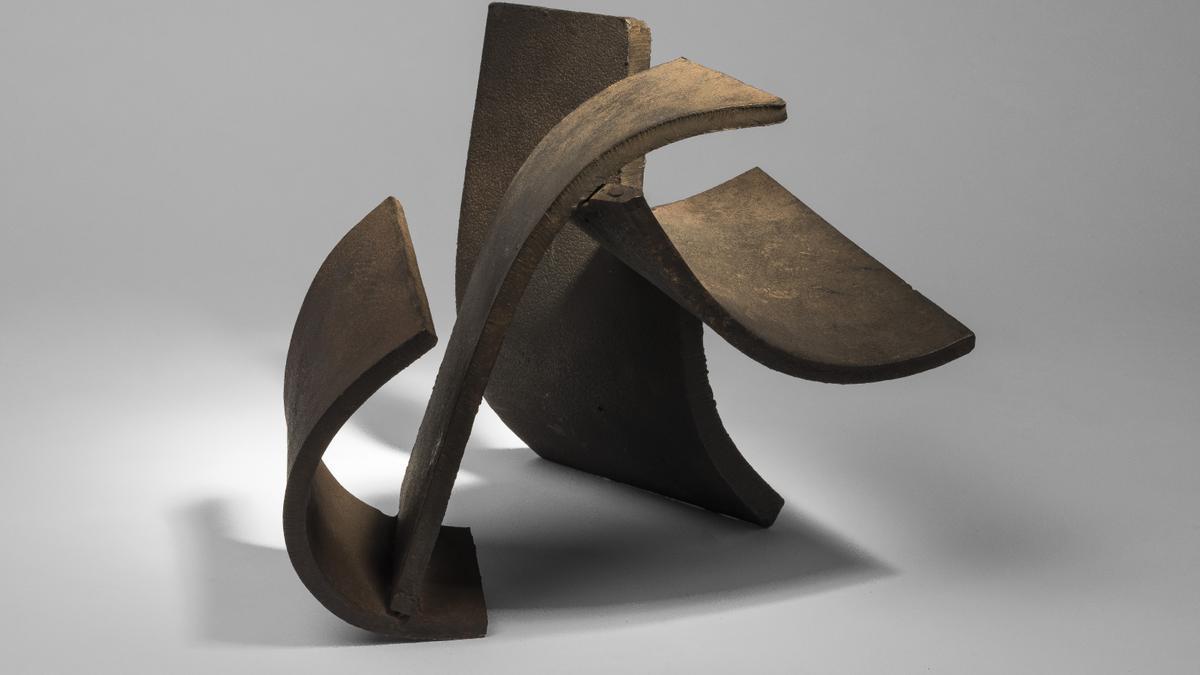 Obra escultórica de Oteiza.