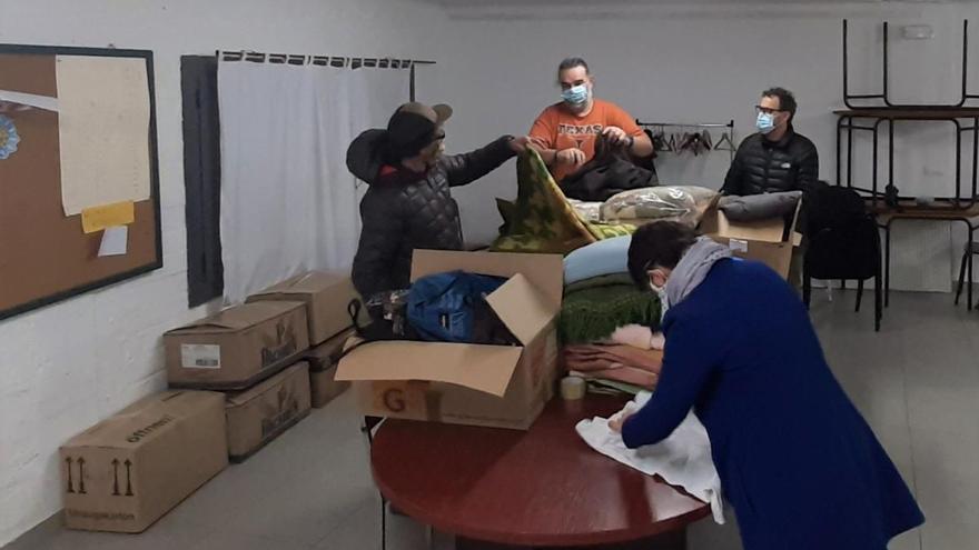 Castelló d'Empúries fa una campanya de recollida de material per a refugiats