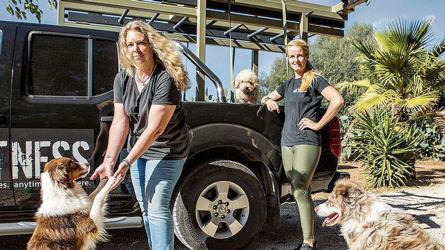 Mallorca-Auswanderinnen bieten Fitness für Mensch und Hund