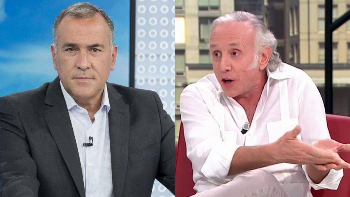 Xabier Fortes y Eduardo Inda.