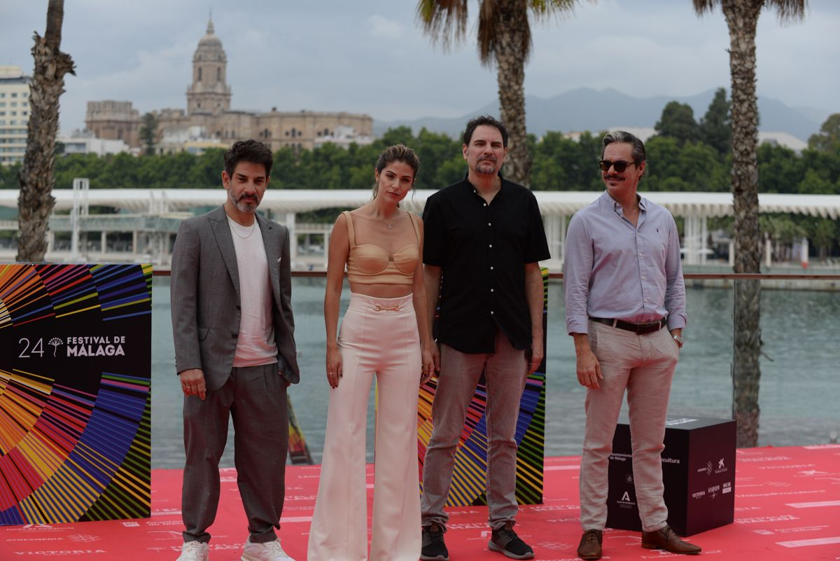 Photocall de 'Amalgama' en el 24 Festival de Cine de Málaga