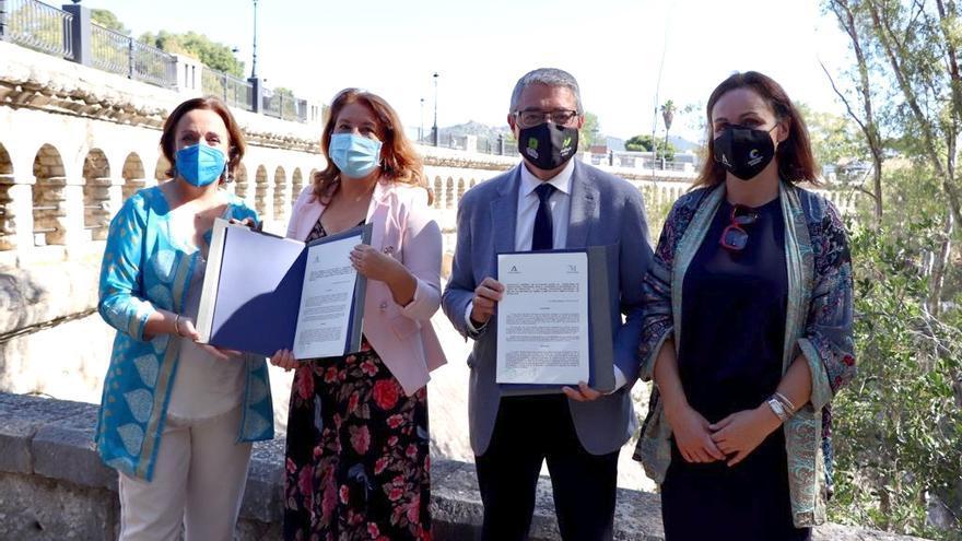 Junta y Diputación cooperan para facilitar a los ayuntamientos la elaboración de planes contra el cambio climático