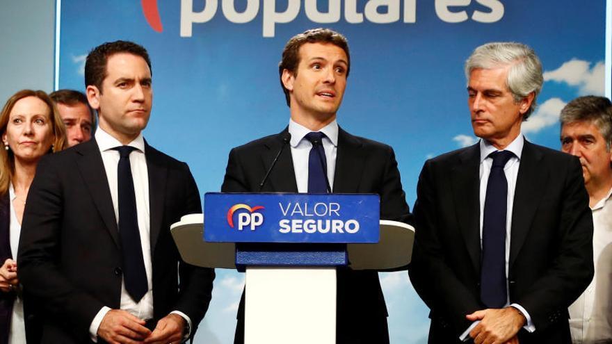 Aumenta el descontento con Pablo Casado en el PP