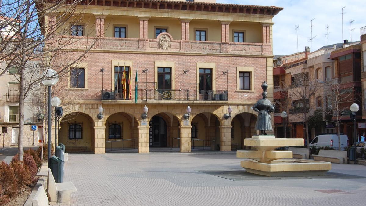 Imagen del Ayuntamiento de Fraga.