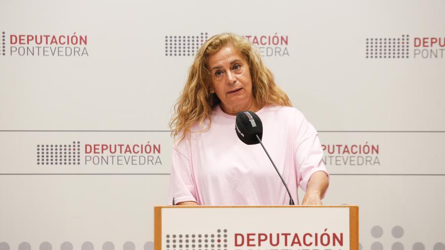 """Carmela Silva reta a Feijóo a gobernar """"para todos los gallegos"""" y apoyar """"no solo"""" a los ayuntamientos del PP"""