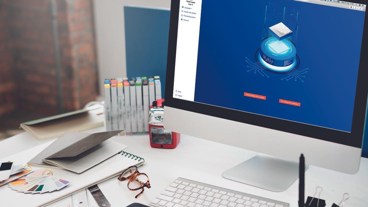 Aitister ayuda a mejorar la calidad estética de la cerámica.