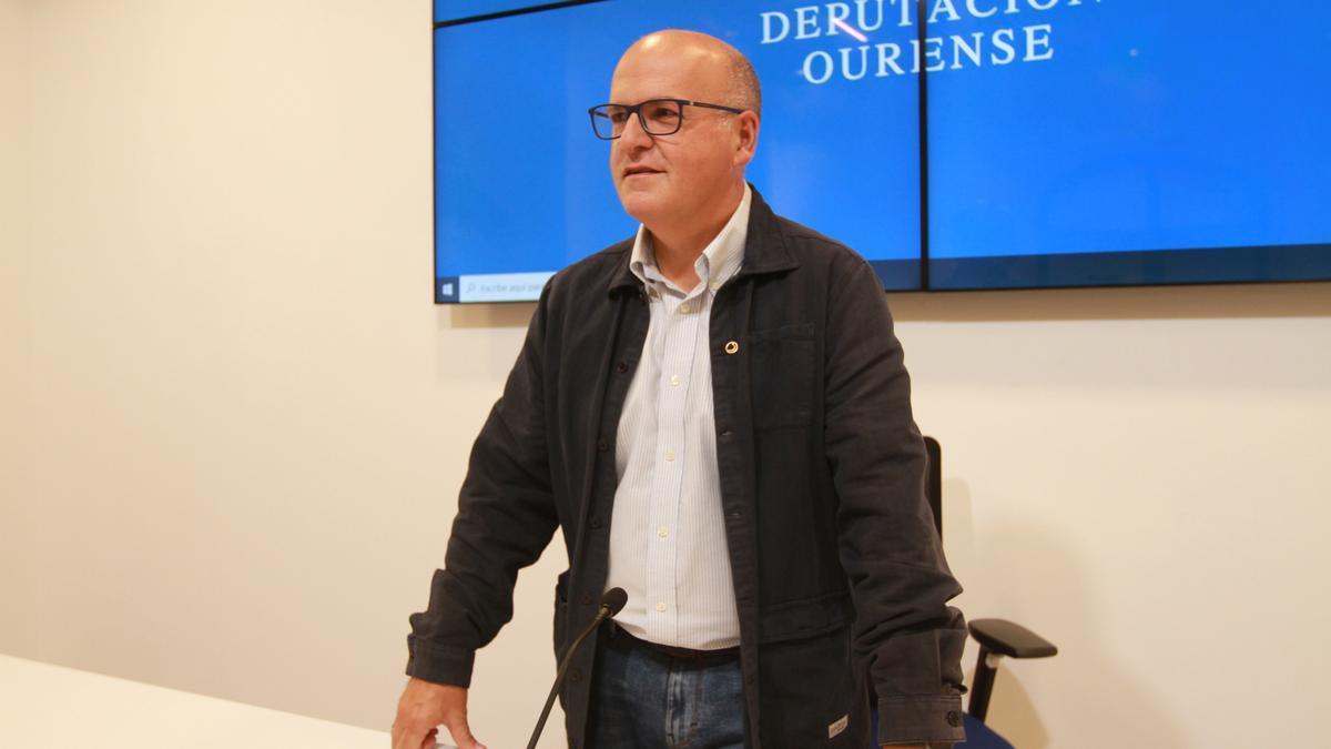 Manuel Baltar, presidente de la Diputación de Ourense. // IÑAKI OSORIO