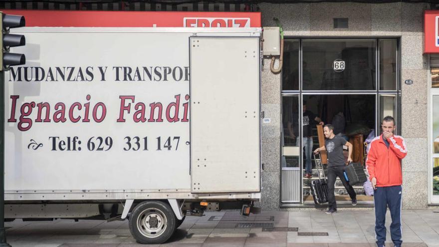 Los impagos del alquiler alimentan el repunte de los desahucios en Vigo