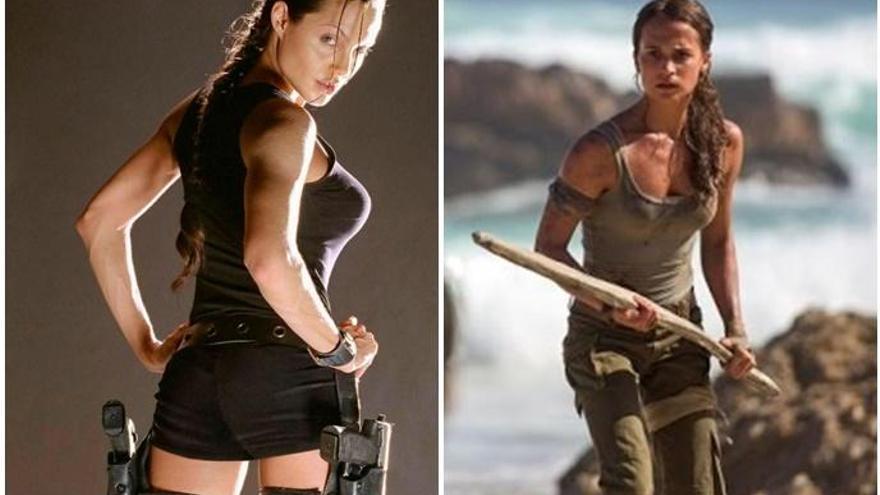 Alicia Vikander vs Angelina Jolie: quina encarna millor Lara Croft?