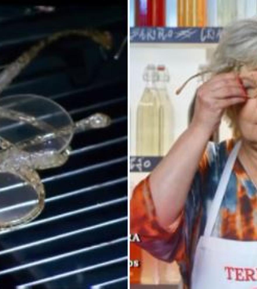 """Terelu Campos incendia Twitter tras hacer una """"fondue de gafas"""" en Masterchef Celebrity"""