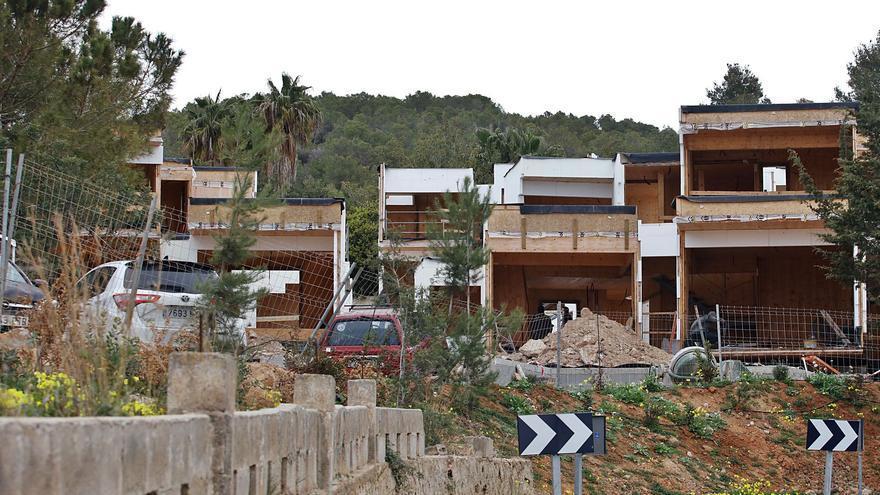 Sant Antoni concluye que las casas de Can Germà se construyen de forma ilegal