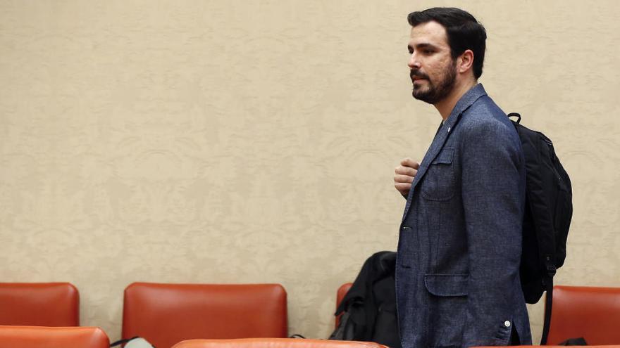 La ausencia de Garzón en la reunión sobre el futuro de IU cabrea en las federaciones territoriales