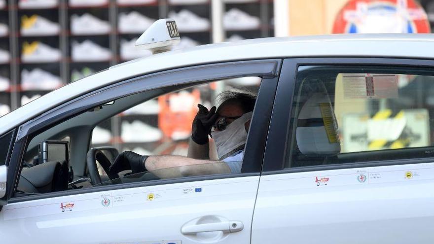 La Generalitat distribuye 40.000 mascarillas al sector del transporte