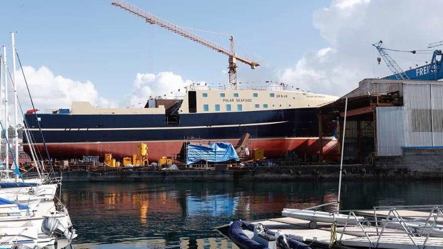 Freire fabrica ya bloques para la patrullera de Kuwait y ultima la entrega del barco de Arabia Saudí