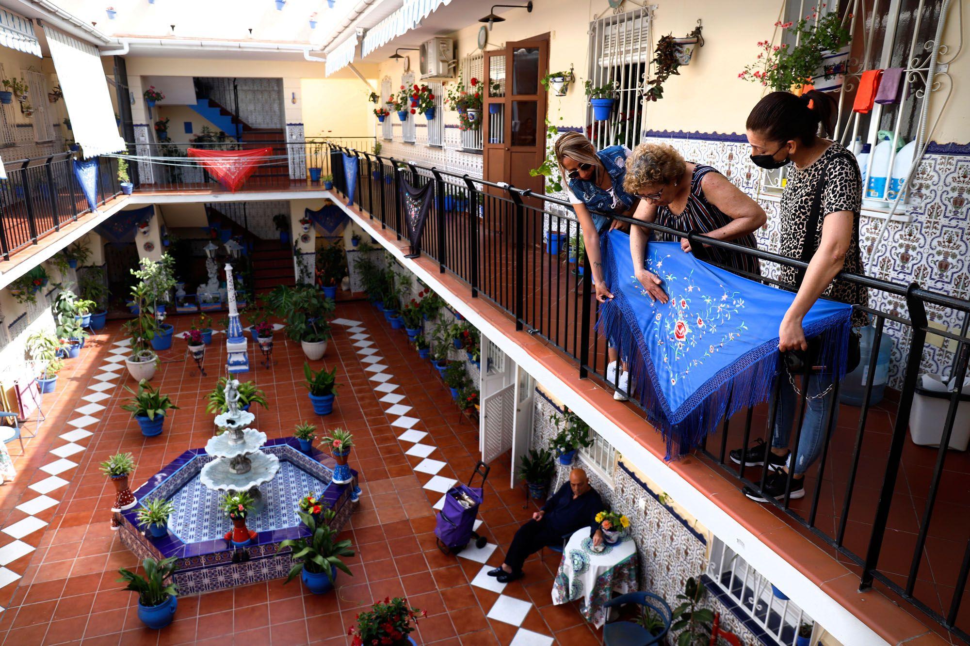 Concurso de balcones del barrio de la Trinidad