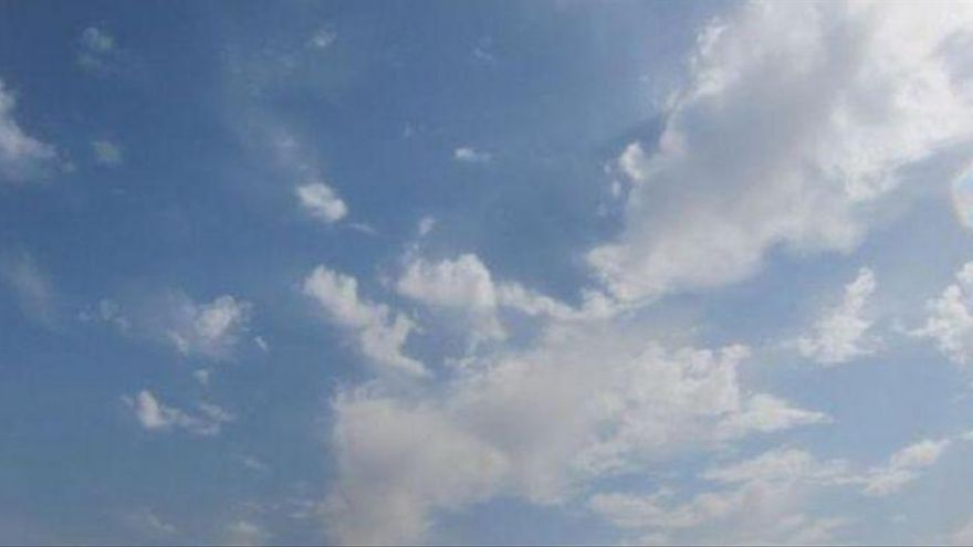 Día de cielos poco nubosos y probabilidad de chubascos en el Pirineo