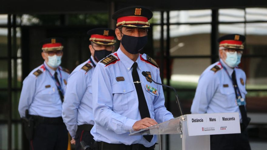 Trapero es reuneix a Madrid amb el màxim responsable de la Guàrdia Civil