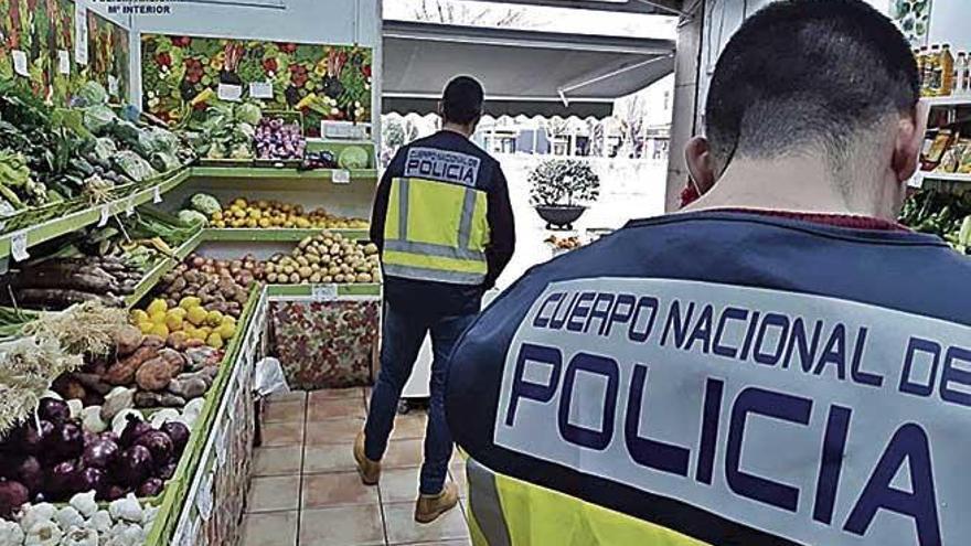 Arrestan al encargado de dos fruterías de Palma por explotar a seis empleados