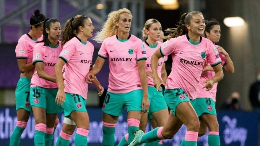 El Barcelona golea al Chelsea y da al fútbol femenino español su primera Champions