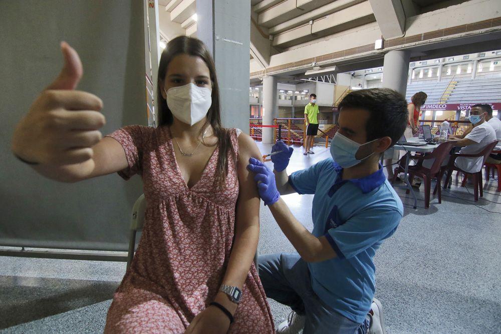 Los millenials cordobeses ya se vacunan