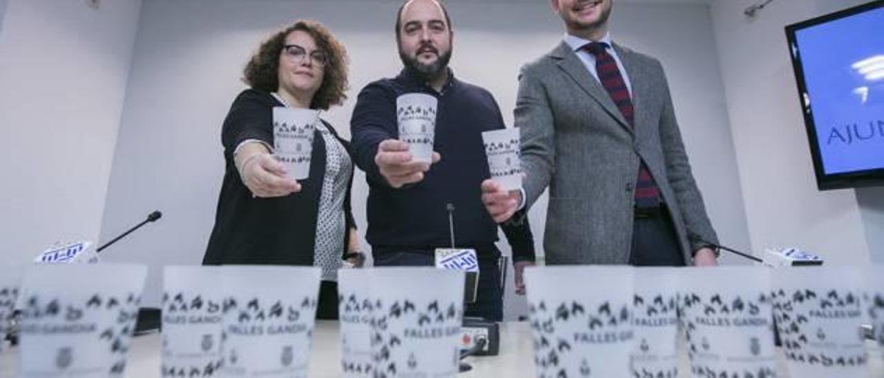 Gandia obligará a usar vasos reutilizables en todos los actos festivos que se celebren en la ciudad