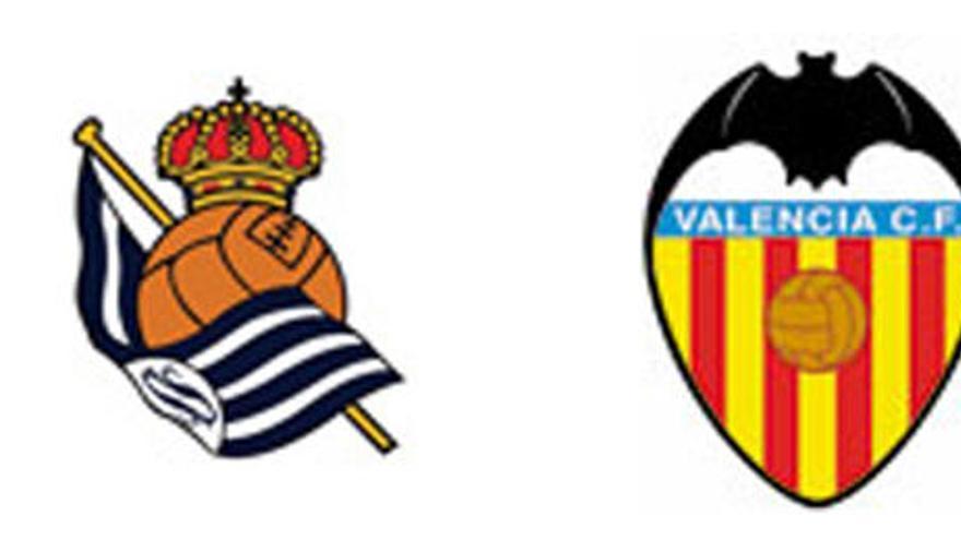 Real Sociedad - Valencia CF: hombre a hombre
