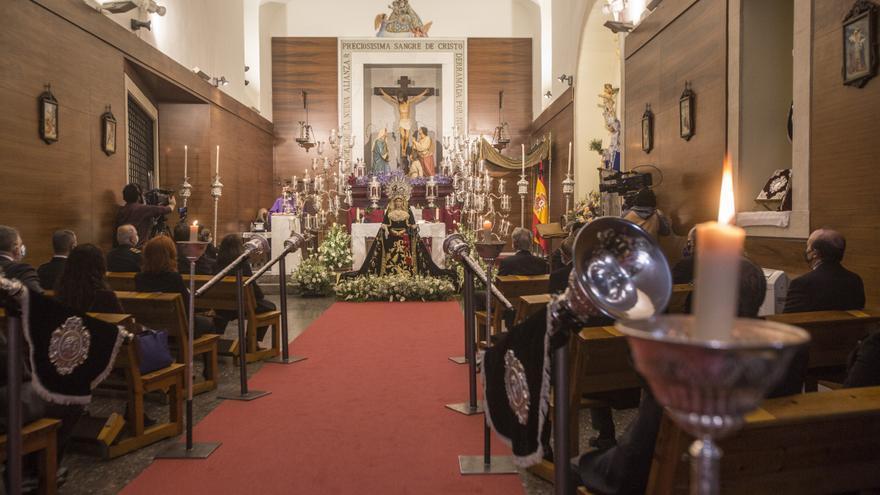 Puertas restauradas en la capilla del convento de las Monjas de la Sangre