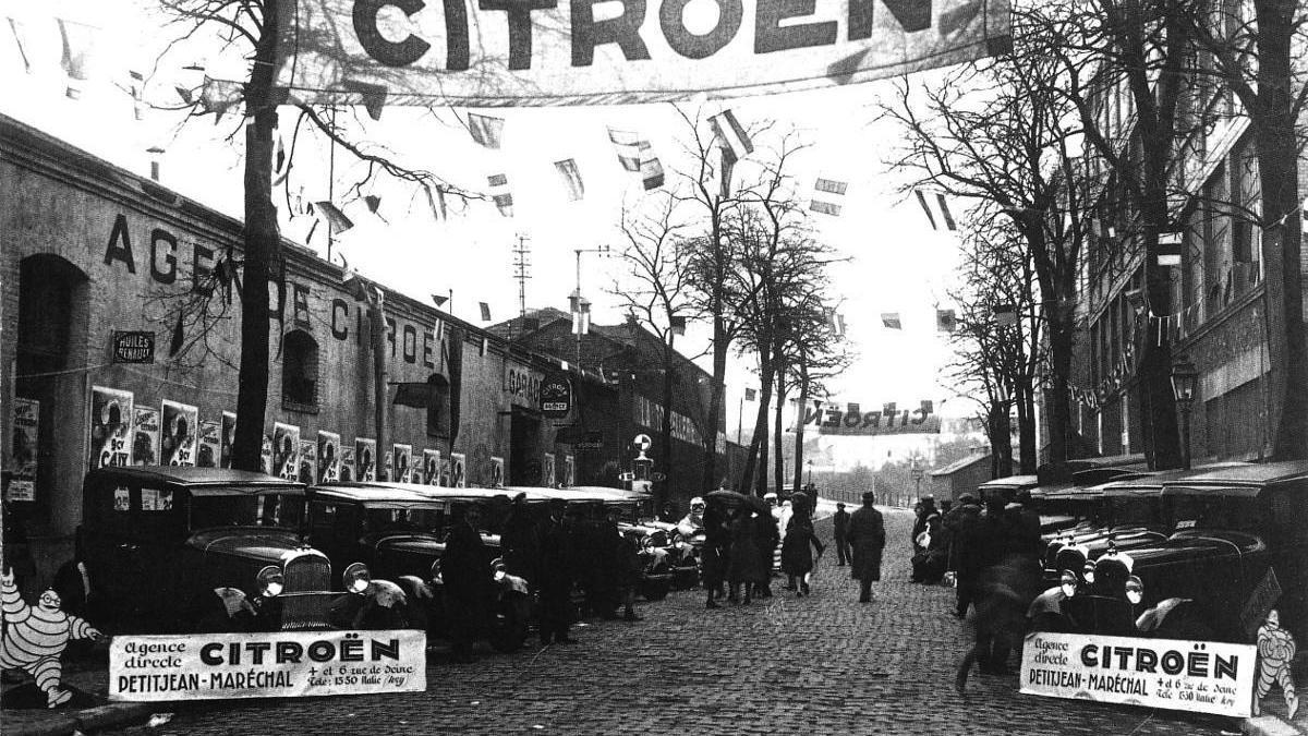 Citroën reinventó la venta de coches con sus caravanas