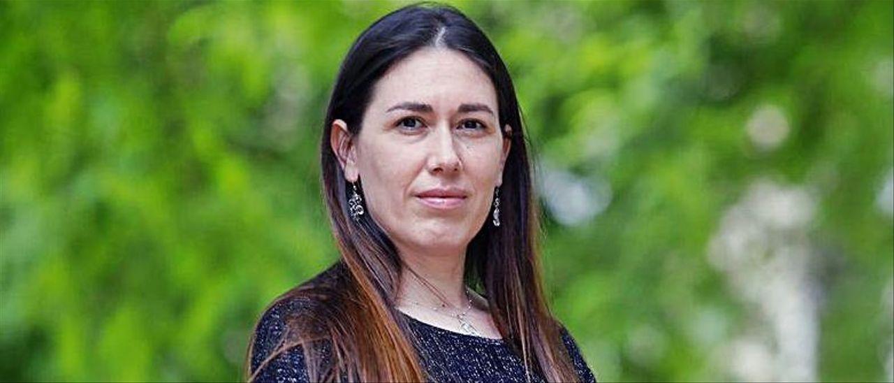 La profesora Àssun Pérez, en Valencia